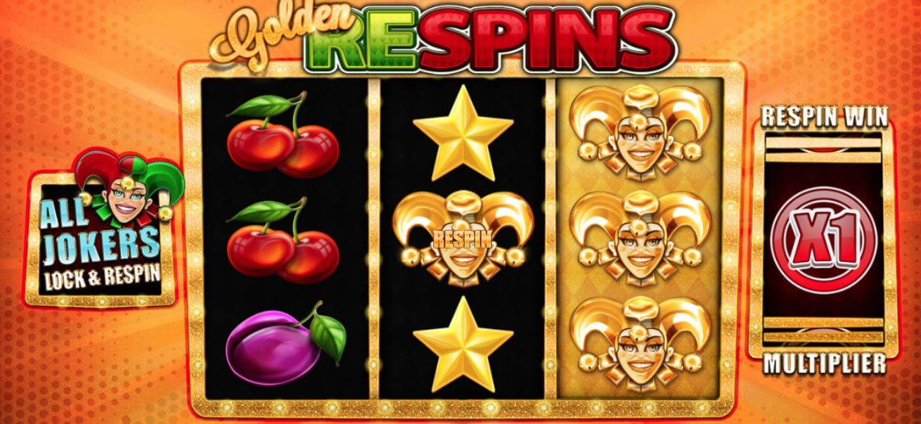Golden Jokers Wild Video Slot
