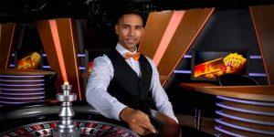 Dealer in the live casino