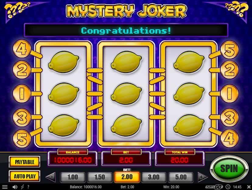 Mystery Joker Classic Slot