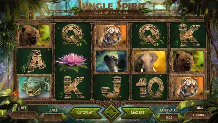Jungle Spirit Video Slot