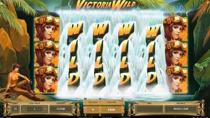 Victoria Wild videoslot