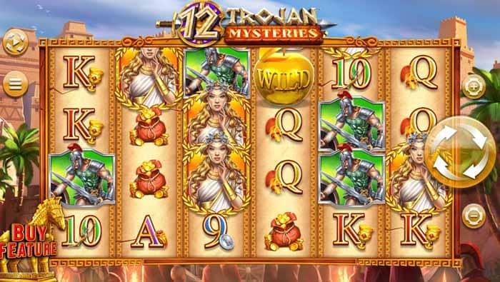 12 Trojan Mysteries slot